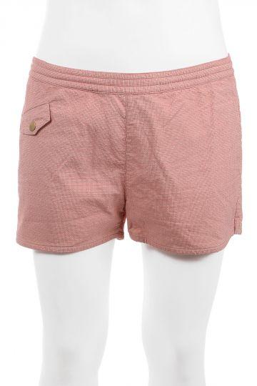 Cotton Stretch Blend Swim Shorts