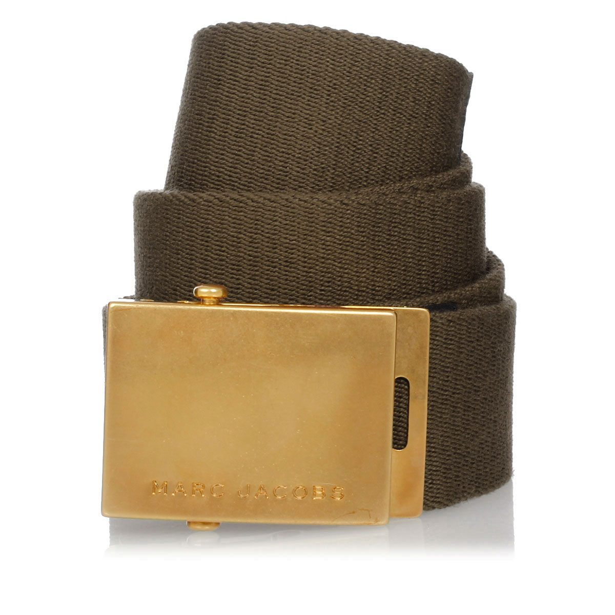 marc jacobs men belt in fabric 40 mm spence outlet. Black Bedroom Furniture Sets. Home Design Ideas