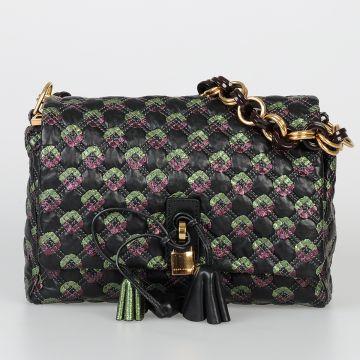 Embroidered Leather ROBERT JENNIFER Bag