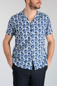 MARC BY MARC JACOBS Patterned Cotton Blend Shirt