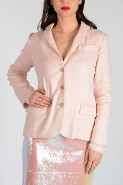 MARC BY MARC JACOBS Stretch Linen & Cotton Blazer