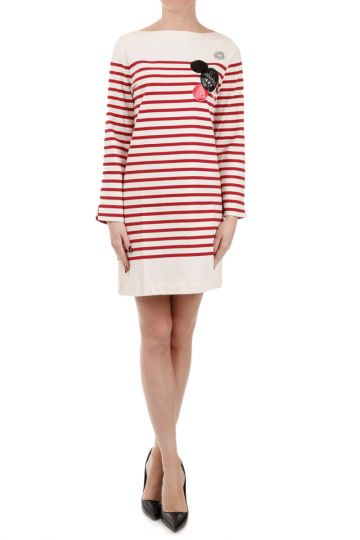 MARC BY MARC JACOBS Breton Long Sleeves Dress with Garments