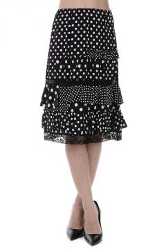 MARC BY MARC JACOBS Pois Printed Skirt With Frill