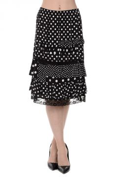 MARC BY MARC JACOBS Polka Dot Viscose Skirt