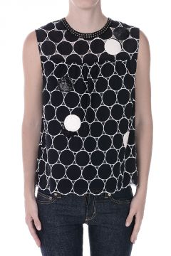 MARC BY MARC JACOBS Studded Sequins Top