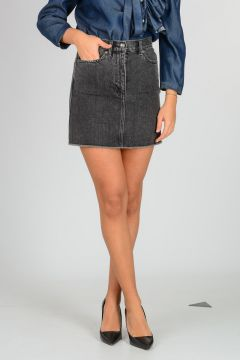 MARC BY MARC JACOBS Cotton Denim Mini Skirt