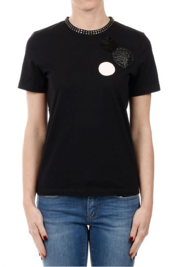 MARC BY MARC JACOBS T-Shirt con Applicazioni in Cotone