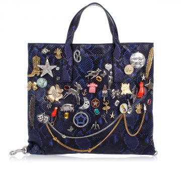Embroidery Leather Bag With Details