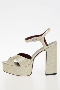 Glittery LUST Platform Sandals 13 cm
