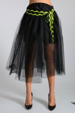 Tulle & Silk Skirt