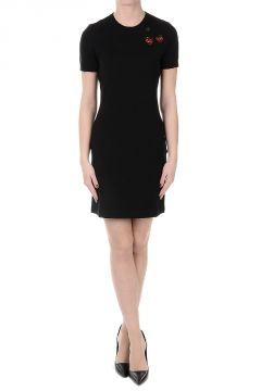MARC BY MARC JACOBS Pencil Knit Dress with Embroidery