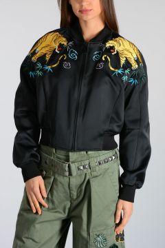Nylon Blend Jacket