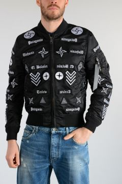 ALPHA INDUSTRIES Nylon ROLDAN ALPHA Bomber Jacket
