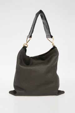Leather MAXI STRAP Bag