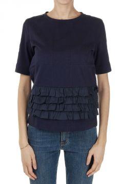 T-Shirt con Balze