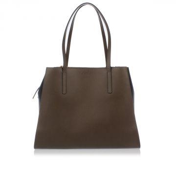 Shopping Bag Piccola in Pelle Saffiano