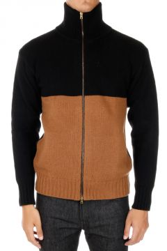 Cashmere & Wool Cardigan with Zip