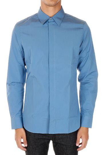 Camicia POLO in Popeline di Cotone