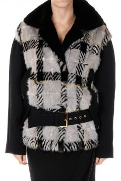 Short Mink Fur Coat
