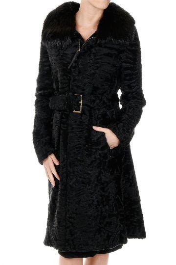 Cappotto in Pelliccia di Agnello Persiano