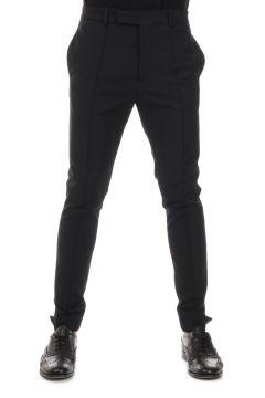 Pantalone in Cotone Stretch Gabardine
