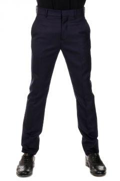 Pantalone in Flanella di Lana Leggera