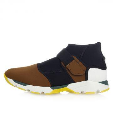 Sneakers Slip on in Tessuto Tecnico