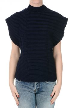 Sleeveless Cotton Sweater