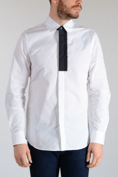 Bicolor Cotton Shirt