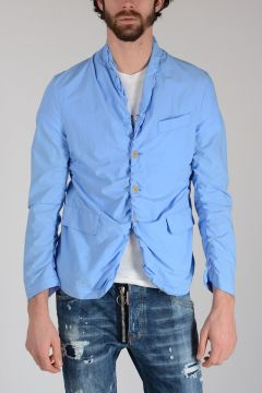 Cotton Jacket with Curling