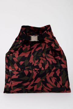 SHATTER PRINT Clutch Handbag