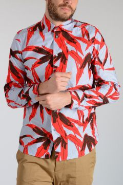 Camicia a Fantasia Floreale