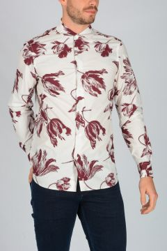 Cotton Popeline Shirt Printed