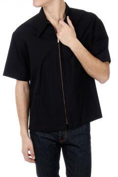 Camicia a Mezze Maniche in misto cotone