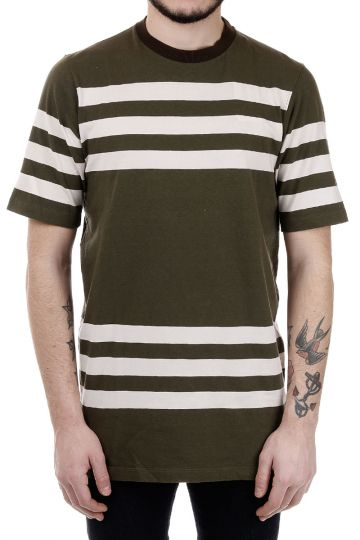 T-Shirt in Cotone a Righe