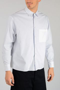 Reversible Popeline Cotton Shirt