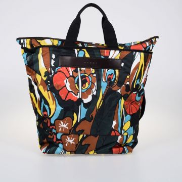 Psicadelic Print Shopper Bag