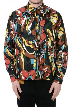 Reversible Short Sleeves Printed Shirt