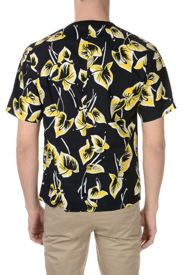 Floral jersey Cotton Printed T-shirt