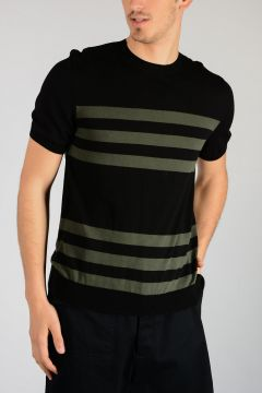 Striped Short Sleeves Shirt