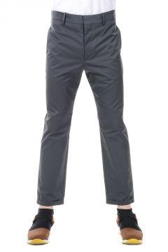 Cotton Blend Slim Pants