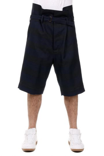 Shorts Oversized a Righe