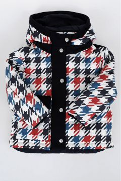 Printed Down padded jacket