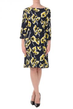 3/4 Sleeves floral Printed Dress