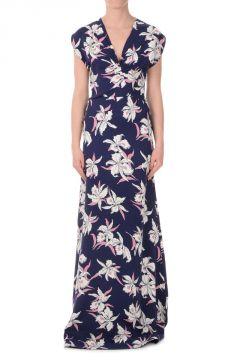 Maxi Dress Con Scollo  V