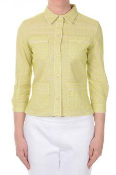 Camicia Ricamata in Cotone