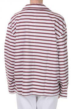 Camicia Oversized a Righe
