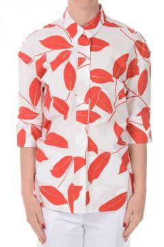 Cotton Floral Printed Shirt