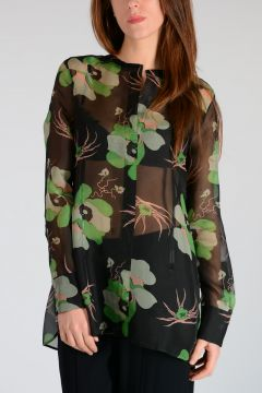 Silk Floral printed Shirt