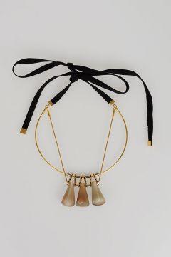 Artisanal Horn Necklace